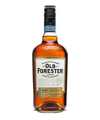 Old Forester 86 Proof is one of the best cheap whiskeys you can buy.