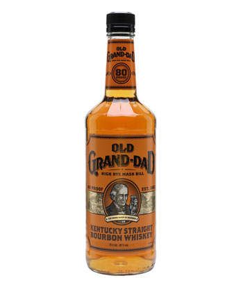 Old Grand-Dad Kentuck Straight Bourbon is one of the best cheap whiskeys you can buy.