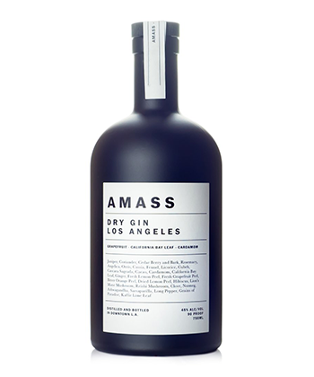 Amass Dry Gin is one of the Best Gins of 2020