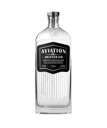 Aviation Gin is one of the Best Gins of 2020