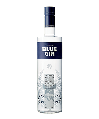 Reisetbauer Blue Gin is one of the Best Gins of 2020