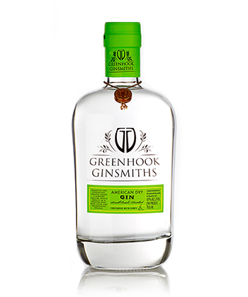 Greenhook Gin is one of the Best Gins of 2020