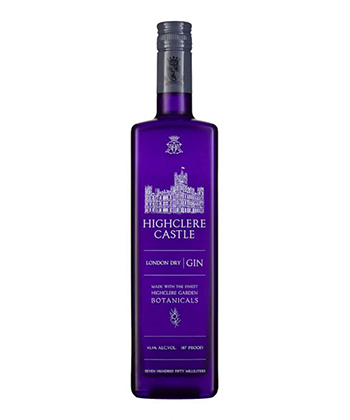 Highclere Castle Gin is one of the Best Gins of 2020