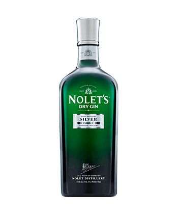 Nolet's is one of the Best Gins of 2020