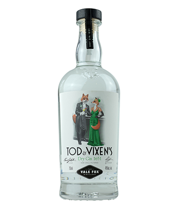 Tod & Vixen's is one of the Best Gins of 2020