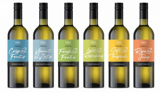 M&s Launches £5 Wine Range Focused on Style