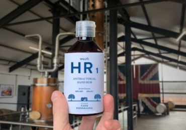 Chase Distillery Starts Making Hand Sanitiser for Key Workers