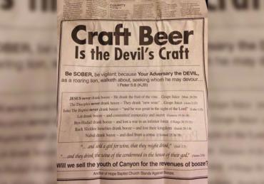 A Pastor Took Out an Ad to Shame Craft Beer — And a Local Bar Used it to Become the 'Best Beer Bar in Texas'