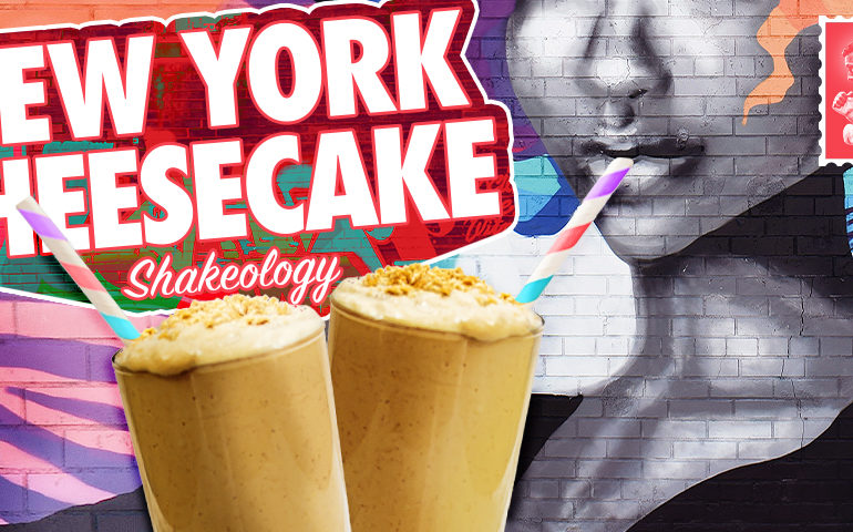 New York Cheesecake Shakeology Smoothie