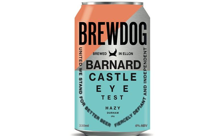 BrewDog launches Barnard Castle Eye Test Hazy IPA