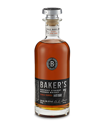 Baker's 7 Year Old is one of the 30 best bourbons of 2020.