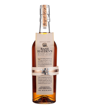 Basil Hayden's Kentucky Straight is one of the 30 best bourbons of 2020.