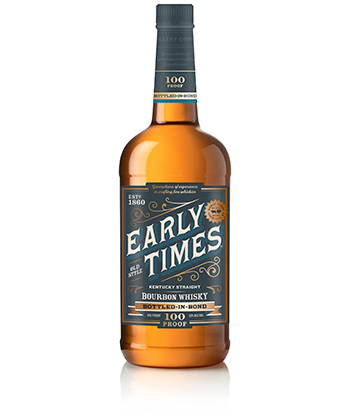 Early Time Bottled in Bond is one of the 30 best bourbons of 2020.