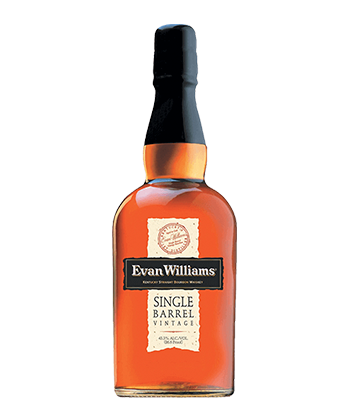Evan Williams Single Barrel is one of the 30 best bourbons of 2020.