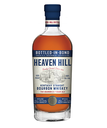 Heaven Hill 7 Year Old is one of the 30 best bourbons of 2020.