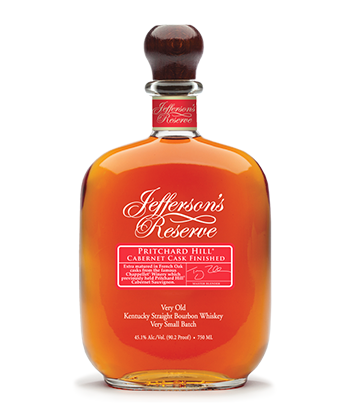 Jeffereson's Reserve Cabernet is one of the 30 best bourbons of 2020.
