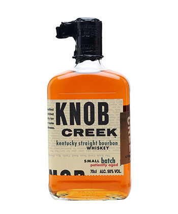 Knob Creek Small Batch is one of the 30 best bourbons of 2020.