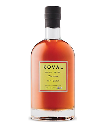KOVAL is one of the 30 best bourbons of 2020.