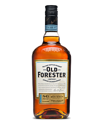 Old Forester 86 Proof is one of the 30 best bourbons of 2020.