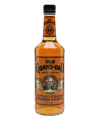 Old Grand-Dad is one of the 30 best bourbons of 2020.