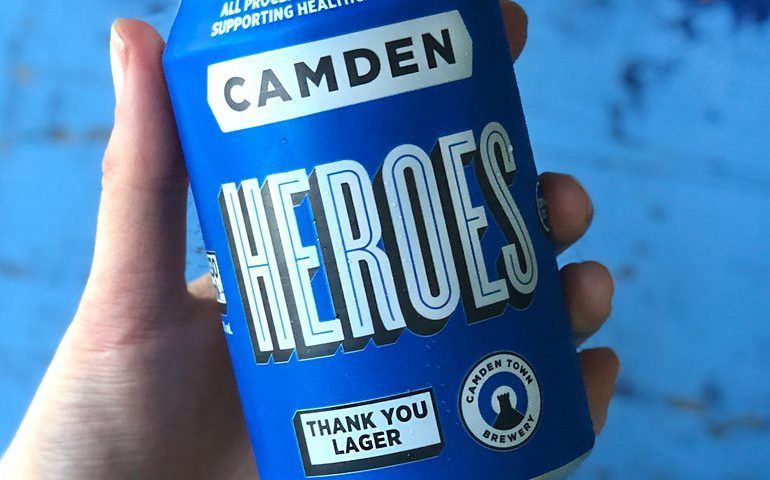 Camden Town Brewery Launches Camden Heroes to Raise Money for Healthcare Workers