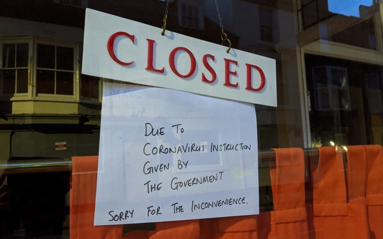 Seated Restaurants and Cafés, and All Bar Areas, to Remain Closed in Lockdown Ease