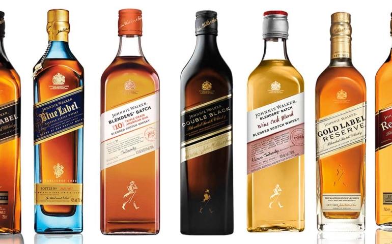 Differences Between Johnnie Walker Labels