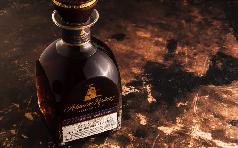 Admiral Rodney Launches Limited-edition Rum Officer's Releases No. 1