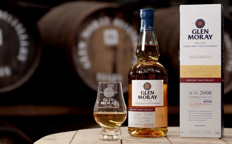 Glen Moray Unveils Madeira Cask Whisky