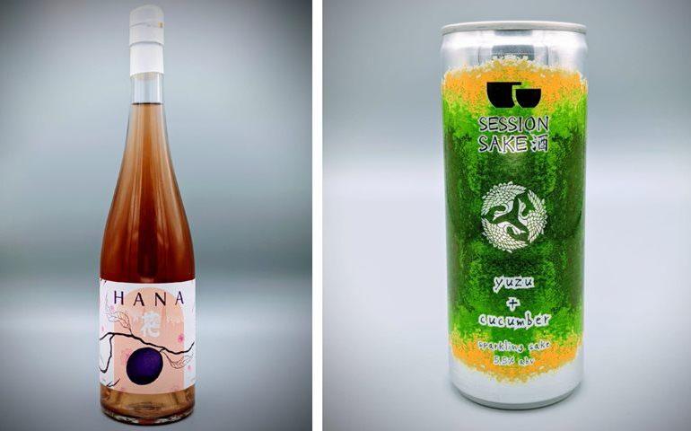 Kanpai Unveils New Plum Saké and Canned Session Saké
