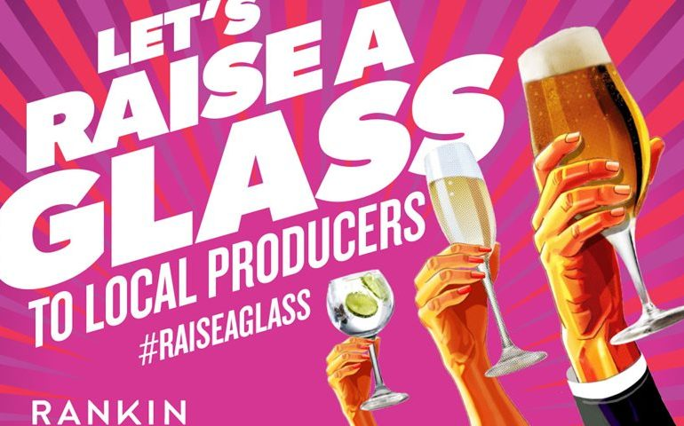 British and Irish Brewers, Distillers and Wine Makers Join Forces in New #raiseaglass Campaign