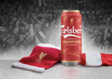 Carlsberg Launches Red Beer Can for Liverpool Fc Win