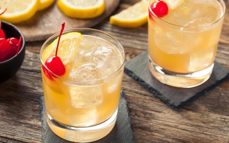 The Whiskey Sour Recipe Recipe