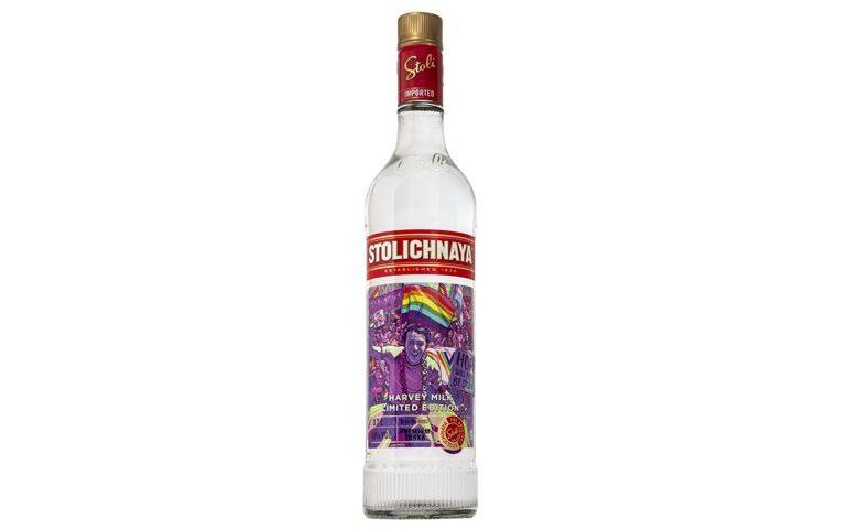 Stolichnaya Vodka Launches Harvey Milk Limited Edition
