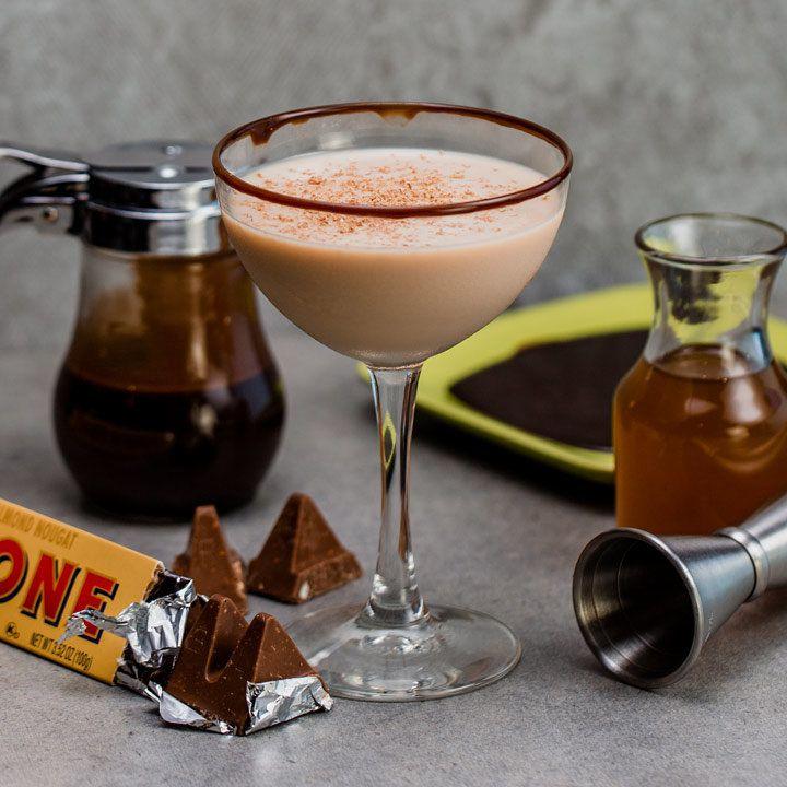 Toblerone Dynamite Dessert Cocktail